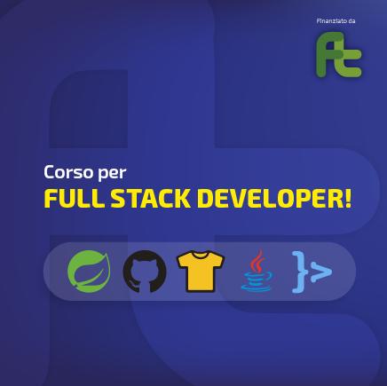 Corso Full Stack Developer sm
