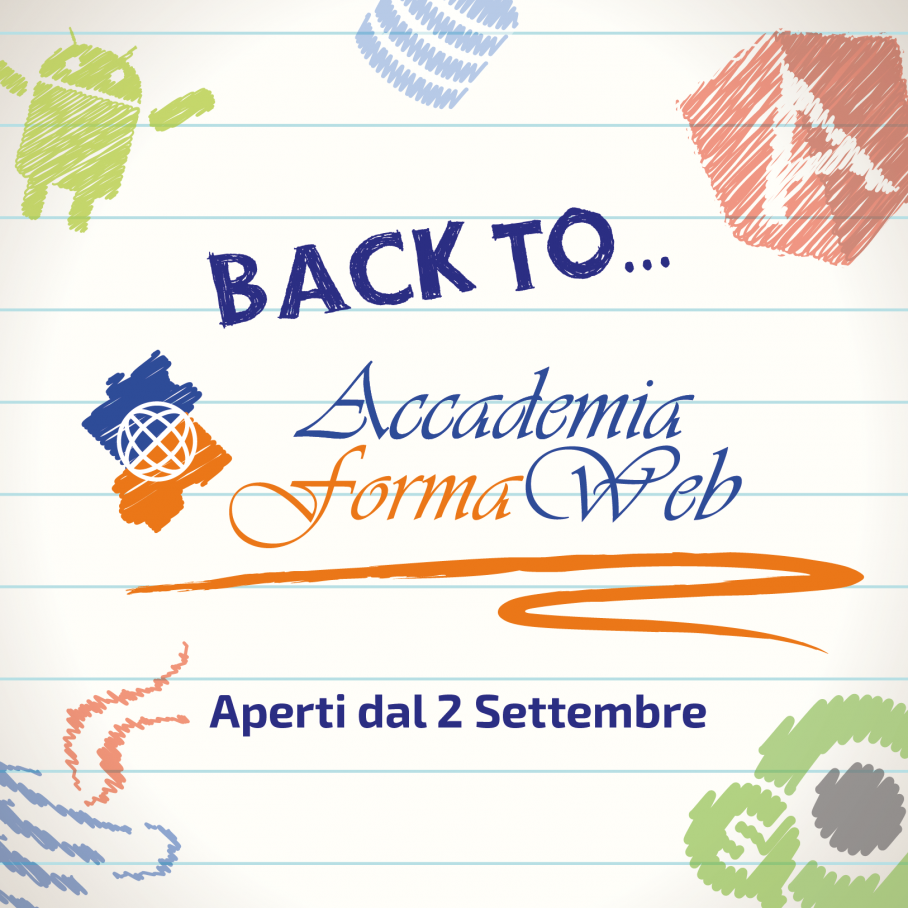 Riapertura Accademia Formaweb a Settembre